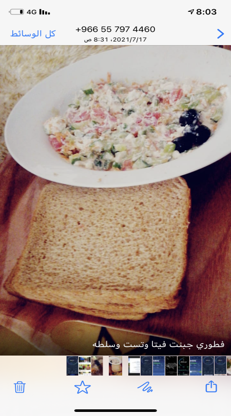 وجبتي